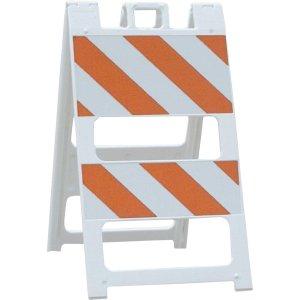 Plastic Type-2 Barricade
